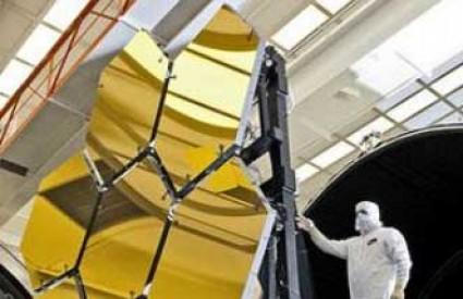 Zlatna ogledala teleskopa Webb