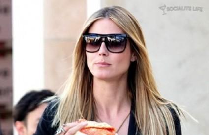 Heidi Klum vjerojatno također zna kako jesti i pizzu i biti vitak