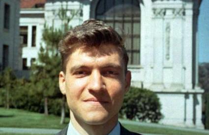 Ted Kaczynski kao mladi profesor na Berkeleyu