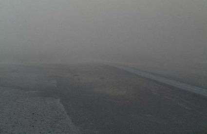 Vulkanski pepeo na islandskim cestama