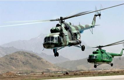 Afganistanski MI-17 helikopteri
