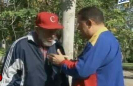 Castro je upozorio Chaveza