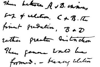 Starije Darwinove bilješke