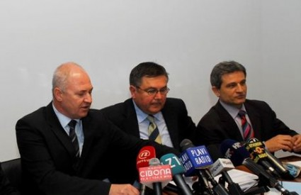 Čović, Ljuština i Šprem iz Zagrebačkog Holdinga