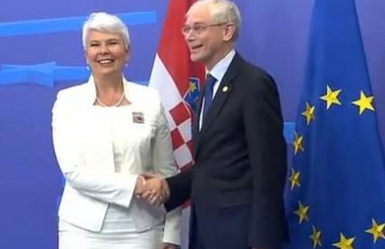 Kosor i Rompuy