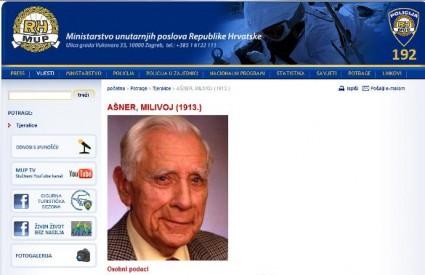 Republika Hrvatska 2005. optužila je Ašnera za ratni zločin protiv civilnog stanovništva te zatražila njegovo izručenje