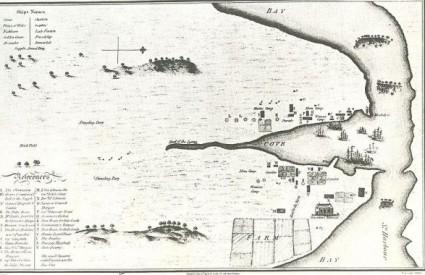 Karta Sydneyja iz 1789. godine