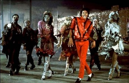 Prizor iz spota za pjesmu Thriller