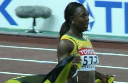 Dvostruka olimpjiska prvakinja Veronica Campbell Brown