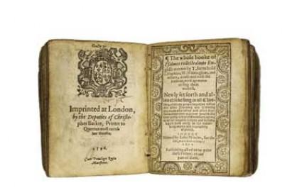 Anglikanski molitvenik iz 16. stoljeća