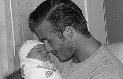 Fotografija kćerkice koju je objavio Backham na svom Twitteru