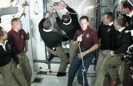 Posada ISS oprašta se s kolegama s Atlantisa