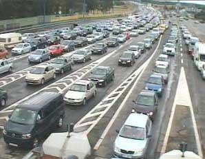 Prometna nesreća paralizirala promet na A1