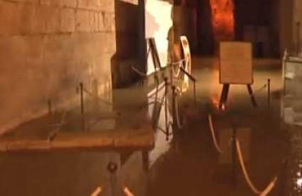 Poplavljen podrum Dioklecijanove palače