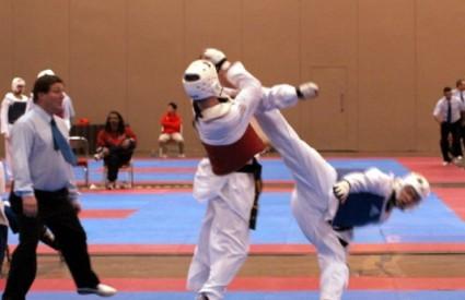 Taekwondo borba