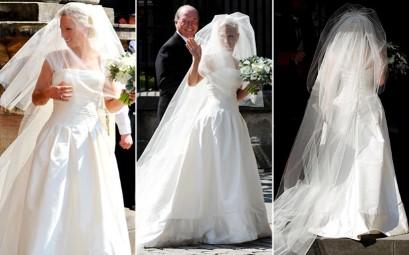 Zara u predivnoj vjenčanici