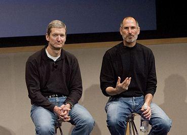 Steve Jobs i njegov nasljednik Tim Cook