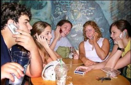 Često druženja izgledaju ovako ...