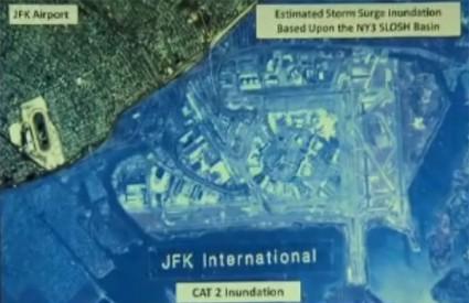 Simulacija moguće poplave u New Yorku