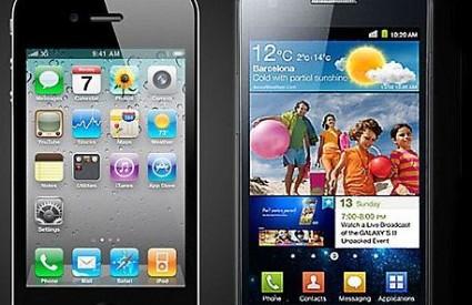 Sličnosti - Možete li vi na prvu reći koji je iPhone, a koji Galaxy II?