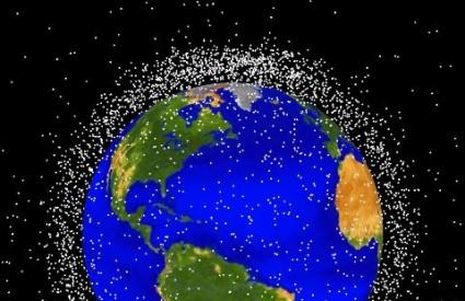 Svemirski otpad u zemljinoj orbiti, NASA
