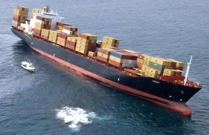 Teretni brod Rena nasukao se iz još nepoznatih razloga