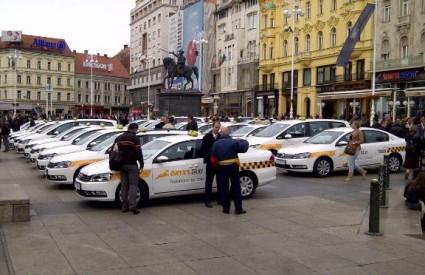 Oryx taksiji na Trgu bana Jelačića