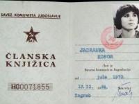Članska knjižica SKJ Jadranke Kosor