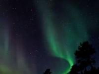 Aurora Borealis u Finskoj