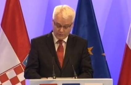 Josipović se ne brine