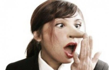 A omiljene ženske laži su ...
