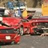 Najskuplji lančani sudar - slupalo se 8 Ferrarija, 3 Mercedesa i Lamborghini