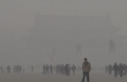 Nevjerojatan smog u Pekingu