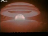 Zastrašujuća snimka nuklearne eksplozije
