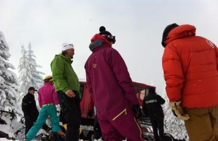Snimka uhićenja hrvatskih skijaša