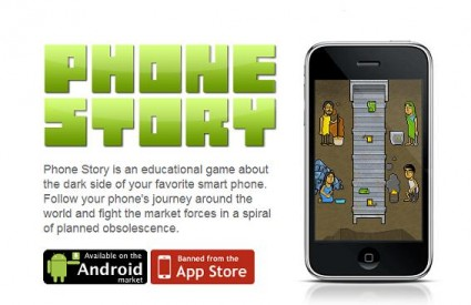 Phone Story opisuje kako nastaju smartphoni