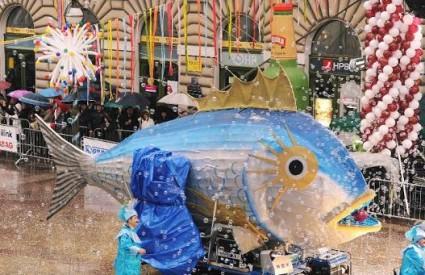 Karnevalska povorka na Korzu