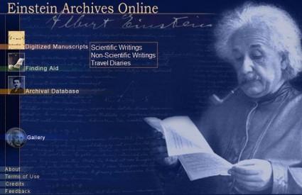 Portal o Albertu Einsteinu