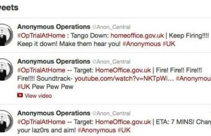 Anonymousi pokazali Home Officeu što misle o njima