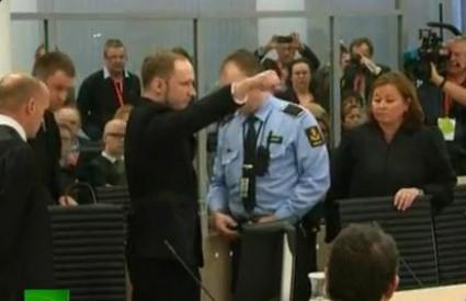 Breivik ide u zatvor, a ne u ludnicu