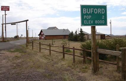 Buford dok je još imao dva stanovnika