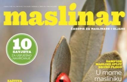 Novi broj časopisa Maslinar
