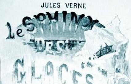 Naslovnica romana Misterij s Antarktike