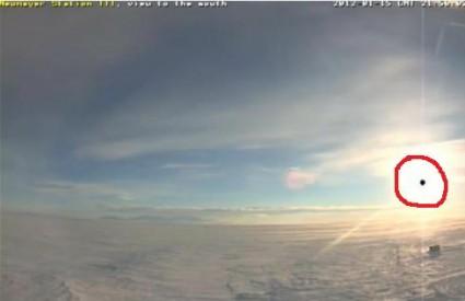 Čudna snimka web kamere na Antarktici