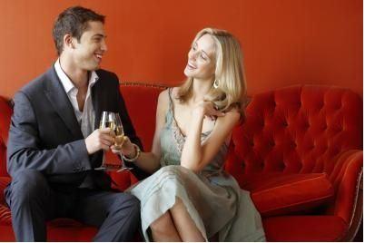 Službena večera postaje romantična ... :)