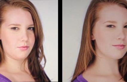 Isturite čelo prema naprijed i blago ga nagnite prema dolje kako biste najbolje naglasili linije svog lica