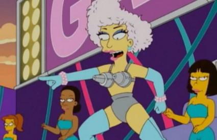 Popularna Lady Gaga u posjetu Springfieldu