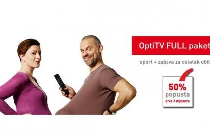 OptiTV FULL paket