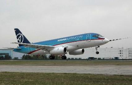 Zrakoplov Sukhoi Superjet 100