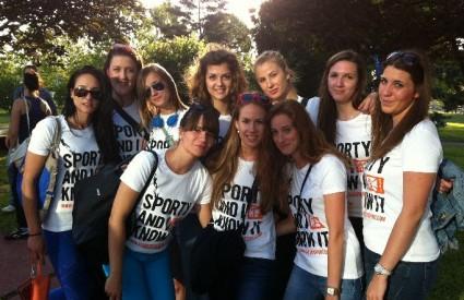 Odbojkašice zagrebačkog Sveučilišta